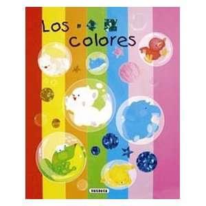 COLORES,LOS APRENDO CON DESPLEGABLES (9788430559022) AA.VV Books