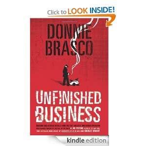 Donnie Brasco Unfinished Business Joe Pistone  Kindle