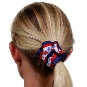 Arizona Wildcats White Team Logo Hair Scrunchie