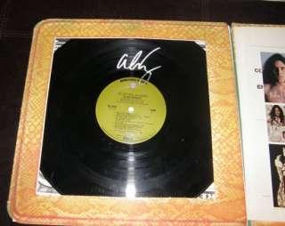 ALICE COOPER SIGNED Billion Dollar Babies Album LP &COA