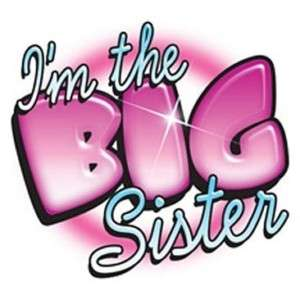 the Big Sister Boys Kids T Shirt All Sizes & Colors