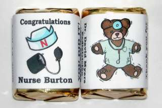 60 DOCTOR NURSE MEDICAL CANDY WRAPPERS PARTY FAVORS