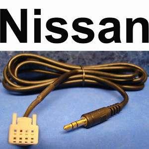 NISSAN ALTIMA 2007 2008 2009 iPOD  AUX INPUT CABLE