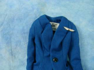 Vintage 1961 Barbie Doll American Airline Stewardess Outfit Clothes