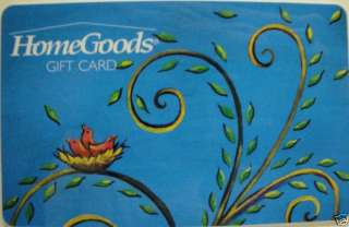 HOME GOODS Gift Card Nest COLLECTIBLE NO VALUE