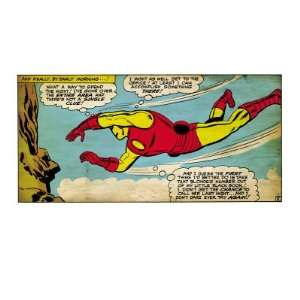 Marvel Comics Retro The Invincible Iron Man Comic Panel