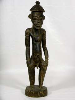 Old African Tribal Art SENUFO Ancestor Figure Collectible