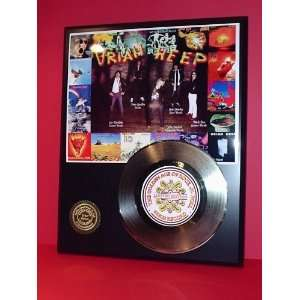 URIAH HEEP GOLD RECORD LIMITED EDITION DISPLAY