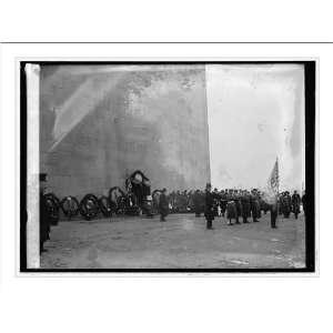 Print (L) Exercises at Monument, Feb. [22/1921]