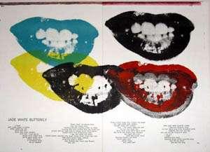 Andy Warhol original lithograph Marilyn Monroe I Love Your Kiss