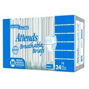 Attends Breathable Brief    Pack of 20    PNGBRB40: Health