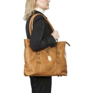 CLAIRECHASE LADIES PREMIUM LEATHER LAPTOP TOTE BAG 844739026944