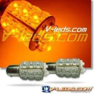 NEW! AMBER 18 LED PARKING TURN LIGHT BULB 1156: Automotive