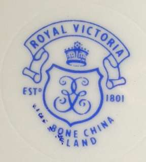 ROYAL VICTORIA china ROV7 Rosebud Salad   Dessert Plate