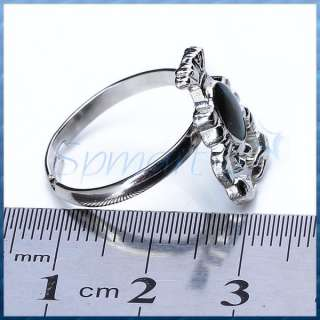SCORPION KING Color Changeable Emotion Feeling Mood Band Ring Silver