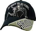 DEATH COMES IN SPADES US ARMY MILITARY EMBROIDERED BALLCAP CAP HAT