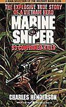 Marine Sniper 93 Confirmed Kills Carlos Hathcock Book