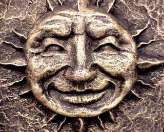 Sun Mask Art Wall Decor Home Garden Plaque 12002
