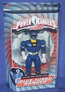 Power Rangers Turbo BLUE TURBO RANGER New RARE Justin