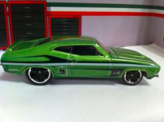 2012 HOT WHEELS MYSTERY MODELS 73 FORD FALCON   UNOPENED