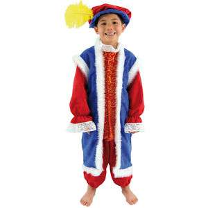 Kids MEDIEVAL KING HENRY 8th TUDOR Fancy Dress Costume