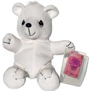 White Teddy Bear   Precious Moments Tender Tails Bean Bag