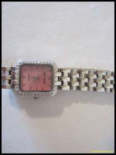 Pierre Cardin Ladies Mother of Pearl & Diamonds Watch
