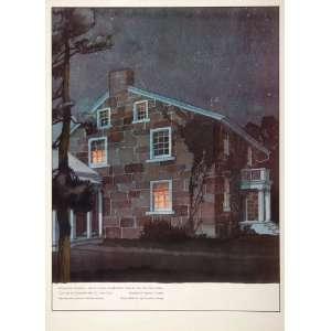 1938 Hotel New Yorker Menu Card Design House Paganos