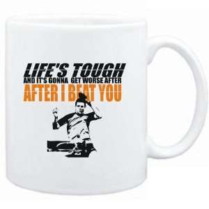 Mug White  LIFE TOUGH Table Tennis  Sports