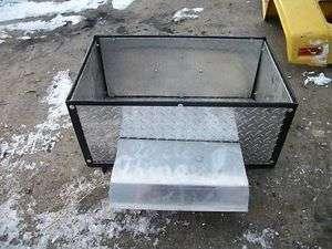 DIAMOND PLATE TRAILER BOX FOR CUB CADET JOHN DEERE