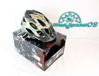 NEW FOX FLUX XS/S DESERTCAMO MOUNTAIN BIKE TRAIL HELMET