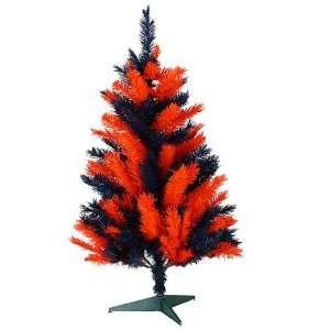 3 NCAA Auburn University Tigers Artificial Christmas Tree