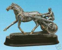HARNESS RACING SULKE RESIN HORSE AWARD TROPHY TROPHIES
