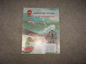 1962 GILBERT AMERICAN FLYER TOYS TRAIN CATALOG D2310 GOOD CONDITION