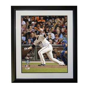 San Francisco Giants Buster Posey Autographed 16x20 Framed