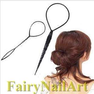Topsy Tail Hair Braid Ponytail DIY Maker Styling Tool
