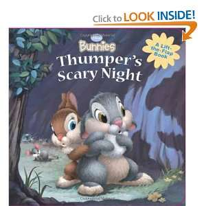 Disney Bunnies Thumpers Scary Night (9781423111955