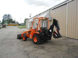 342 Hours Kubota Diesel Mini Tractor Loader Backhoe Excavator