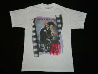 1988 MICHAEL JACKSON VTG BAD TOUR T SHIRT CONCERT SPRING FORD 50/50