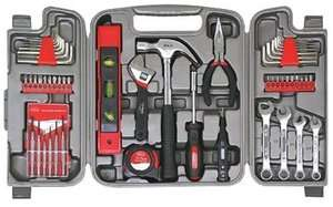 Assorted 53 Piece Home Repair Hand Tool Tools Kit Set