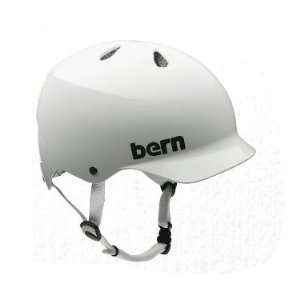 Bern Watts Hard Hat Helmet   XXL  Summer Gloss White