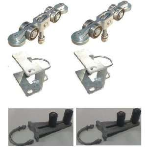 Slide Gate Interior Track Hardware Kit: Home Improvement