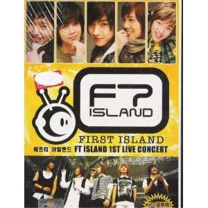 FT Island 1st Live Concert Korean Music Dvd NTSC All: Movies & TV