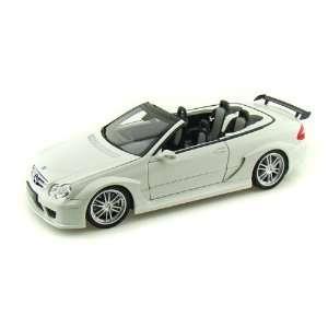 Mercedes Benz CLK DTM AMG Cabriolet 1/18 White Toys