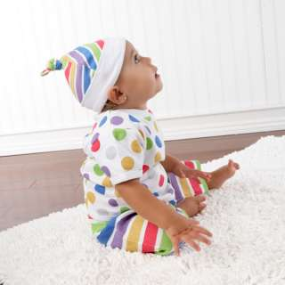 Lolly Pop Outfit Shirt Pants Hat Shower GIFT SET 843905045468