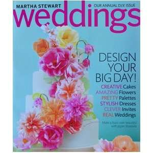 Martha Stewart Weddings Summer 2011 Magazine Issue Martha