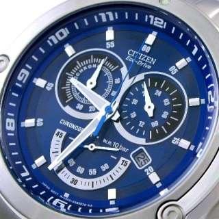Citizen Men ECO DRIVE Chronograph Sport Watch +Warranty NIB AT0788 52L
