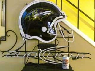 Ravens NFL Football Neon Beer Bar Sign New RARE USA Made