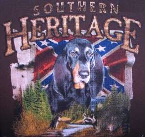 Southern Heritage Blood Hound Confederate Rebel Coon Dixie