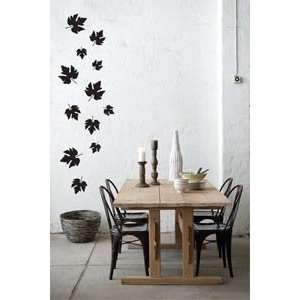 Black)   Loft 520 Home Decor Vinyl Mural Art Wall Paper Stickers: Home